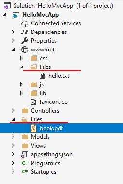 ASP NET Core | Отправка файлов