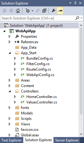 Web API 2 в ASP NET