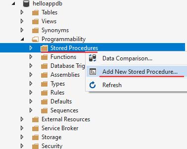 Entity Framework Core   Хранимые процедуры