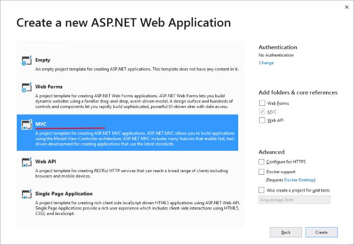 Создание приложений microsoft asp net скачать