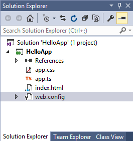 Структура проекта TypeScript
